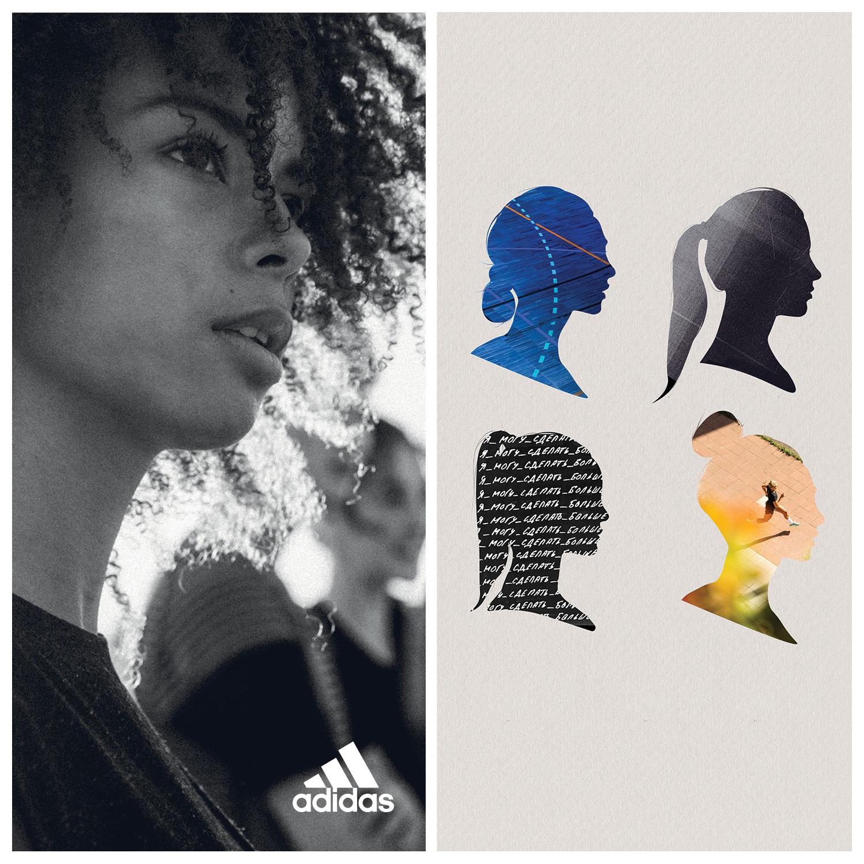 -24% на женскую коллекцию adidas