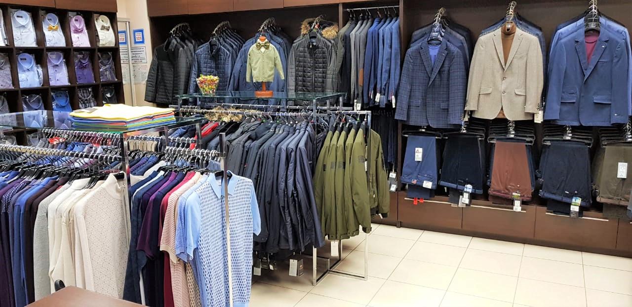 Мужская одежда Russo в ТРЦ Вертикаль